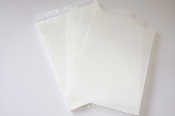 Oblatenpapier (DIN A4 / 25 Blatt)