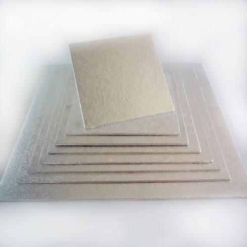 Cake Board quadratisch 27,5 x 27,5 cm/4mm, 1 Stück