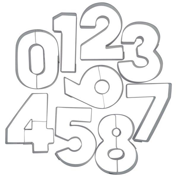"Ausstecher Zahlen ""Zahl 8"""