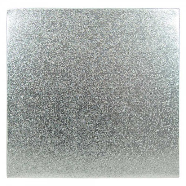 Tortenplatte quadratisch 33 x 33 cm - 1 Stück