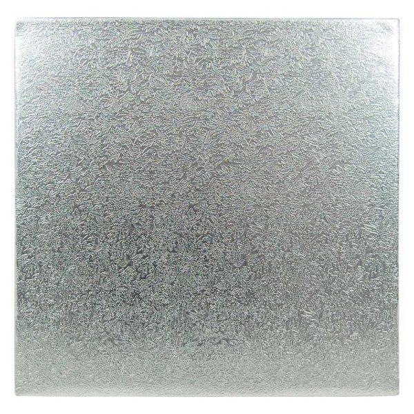 Tortenkleid Tortenplatte quadratisch 33 x 33 cm / 1,2cm dick - 1 Stück