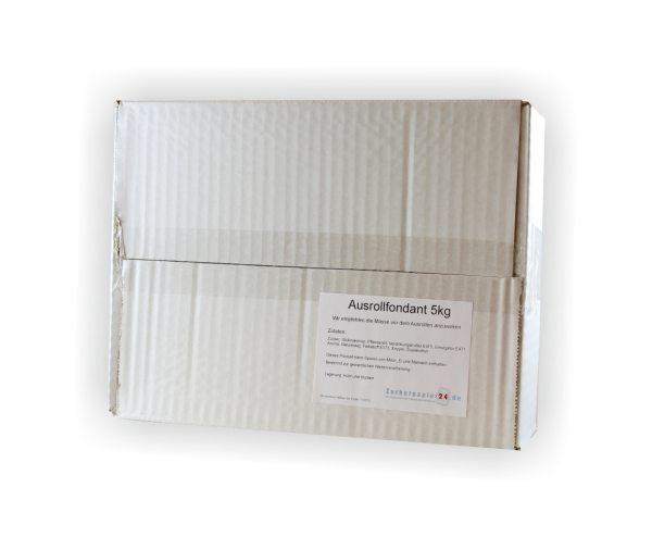 ZP24 Hausmarke Rollfondant gebrauchsfertig - weiß - 5kg