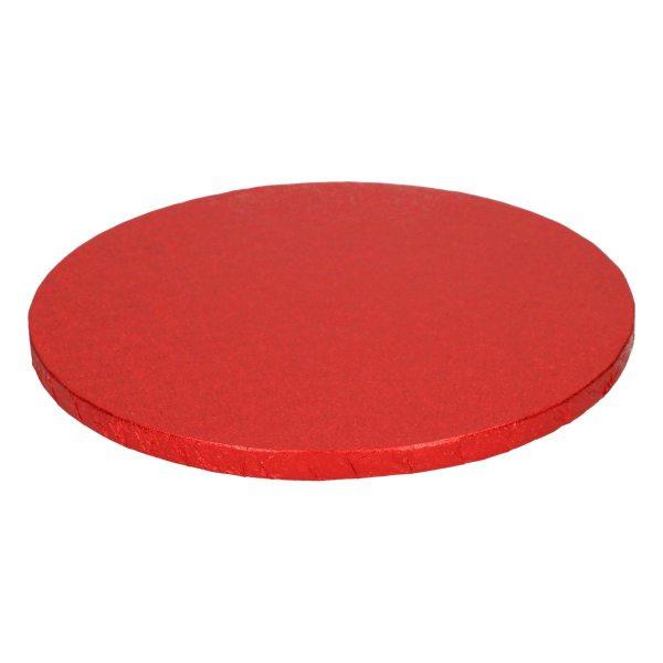 Tortenplatte rund Rot 25cm - 1 Stück