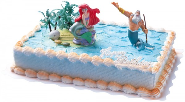 Tortenfigur - Arielle die kleine Meerjungfrau