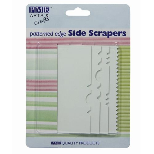 PME Pattern Edge Side Scraper / Spachtel 4er Set