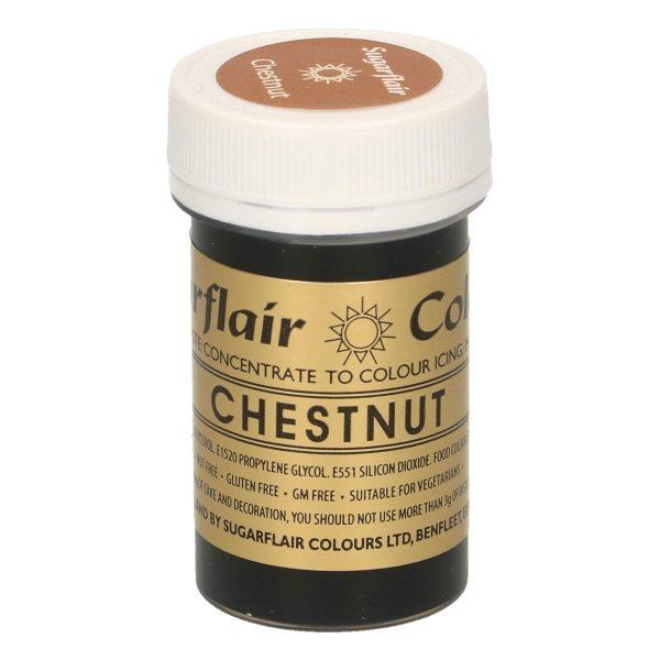 Sugarflair Paste Colour CHESTNUT, 25gr.