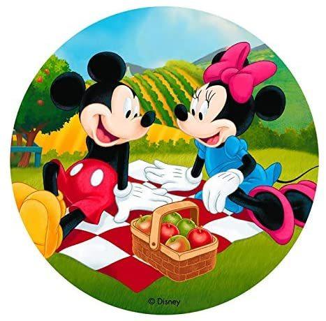 Mickey Mouse - Oblatenaufleger -