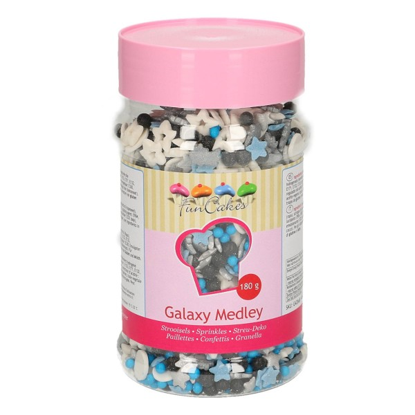 FunCakes Sprinkle Medley -Galaxy- 180g