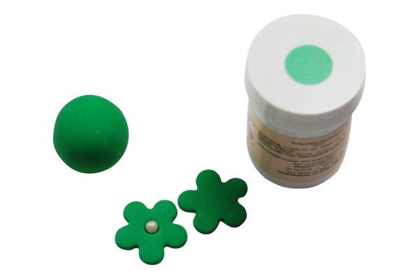 Tortenkleid Pastenfarbe Grün 30g