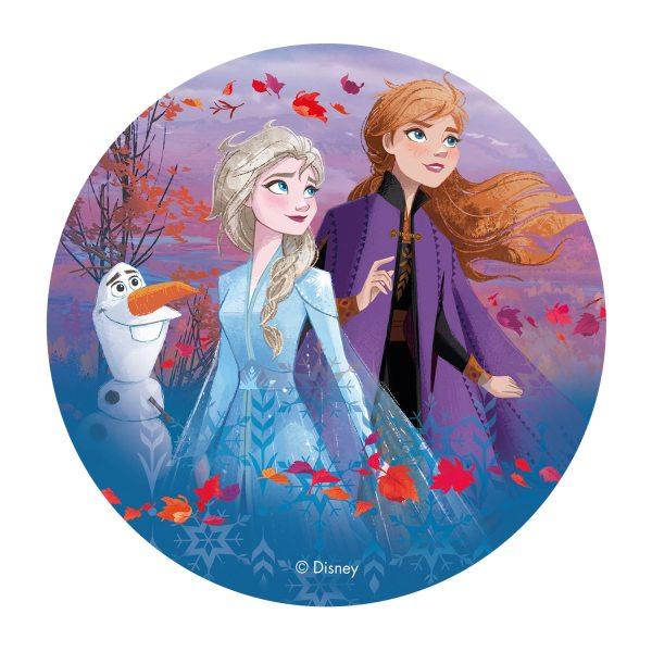 Frozen 2 - Oblatenaufleger - Anna, Elsa & Olaf