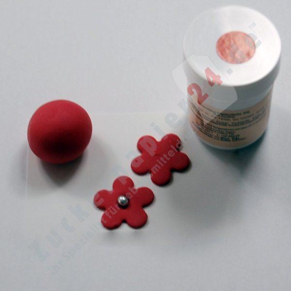 Tortenkleid Pastenfarbe Rot 30g AF