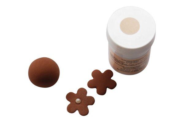 Tortenkleid Pastenfarbe Kamel Braun 30g