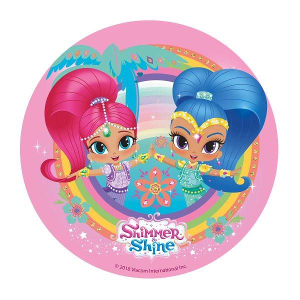 Shimmer & Shine - Oblatenaufleger -