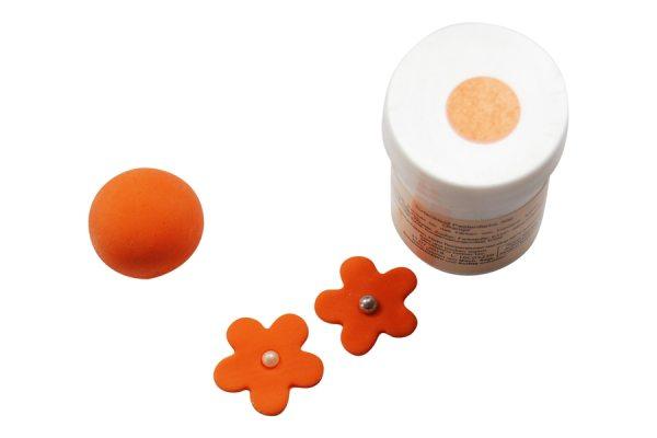 Tortenkleid Pastenfarbe Orange 30g