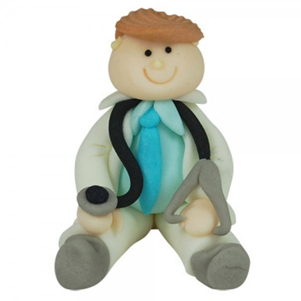 3D Zucker Figur Arzt 1 Stück
