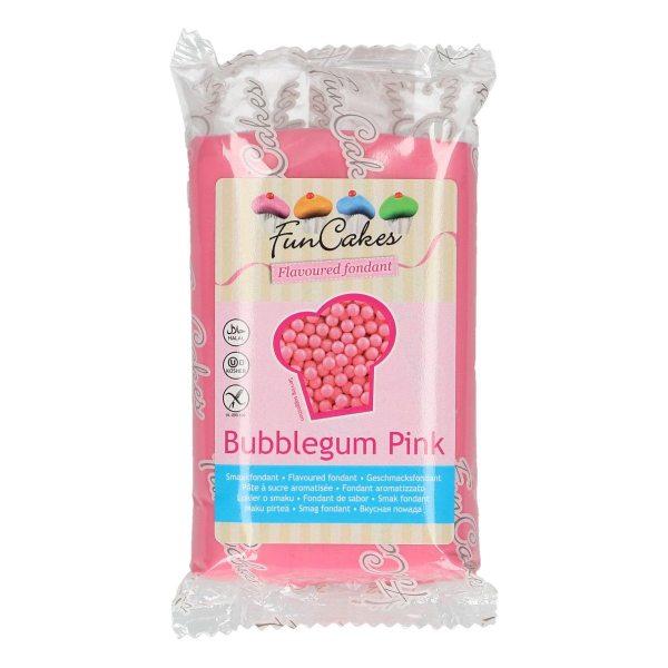 Funcakes Rollfondant (Bubblegum Pink / 250gr)