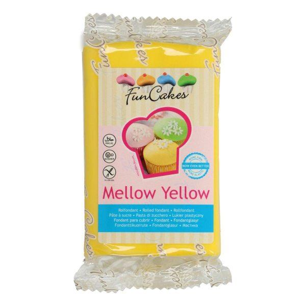 FunCakes Fondant -Mellow Yellow - 250g