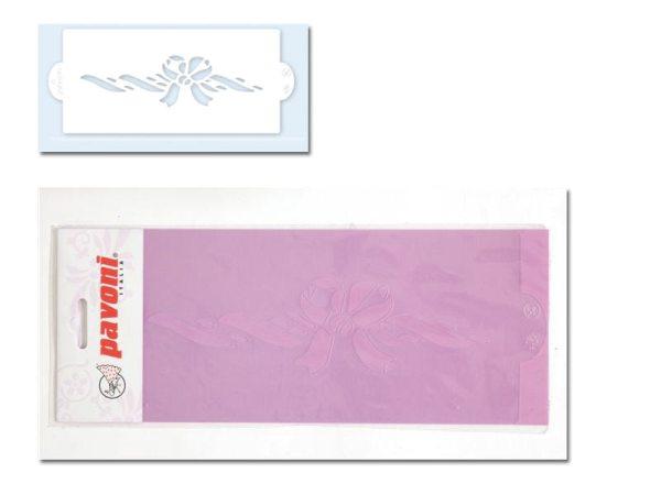 Pavoni Stencil / Schablone für Icing, Airbrush etc. Stencil01