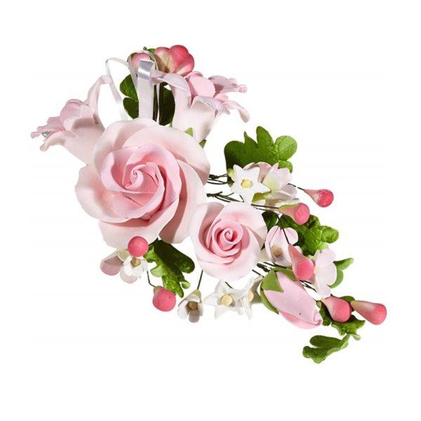 Rosen Bouquet rosa