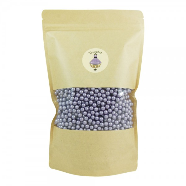 Zuckerperlen 7mm Violett 500g