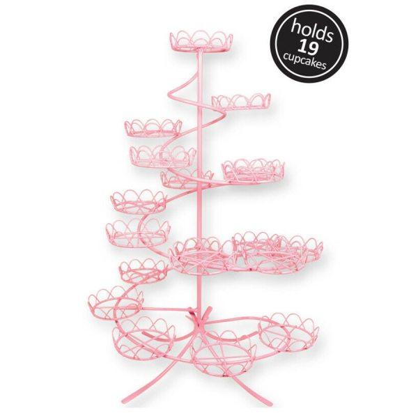 PME Cupcake Ständer Pink für 19 Stück