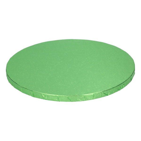 Tortenplatten rund Grün 25cm/12mm / 1 Stück