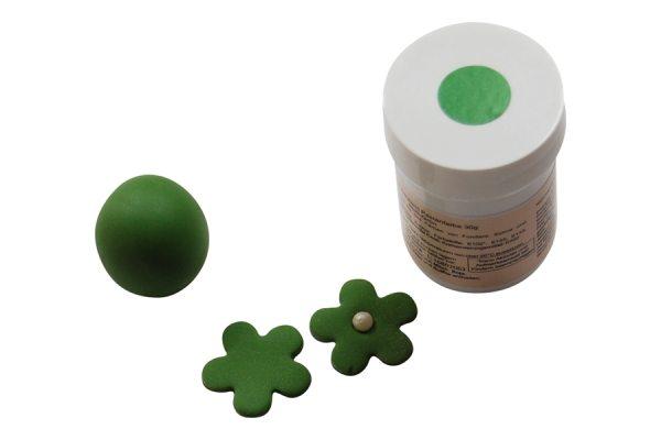 Tortenkleid Pastenfarbe Blatt Grün 30g