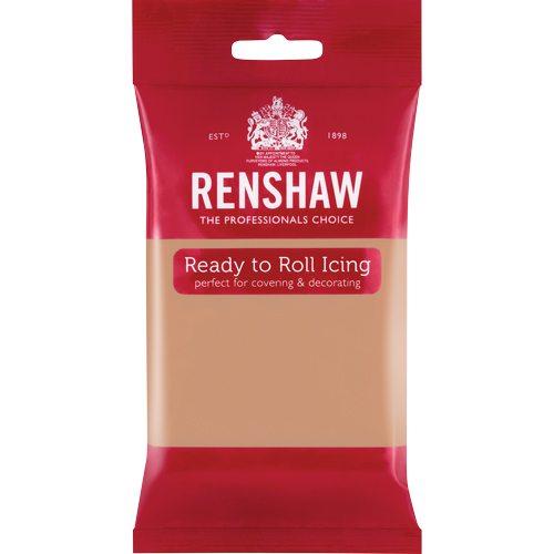 Renshaw Rolled Fondant Pro 250g -Hautfarbe-