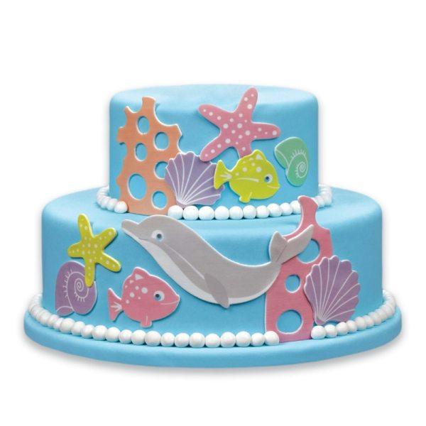Tortenaufleger Kuchen Tattoo Meer
