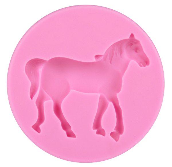 Tortenkleid Silikonform Pferd