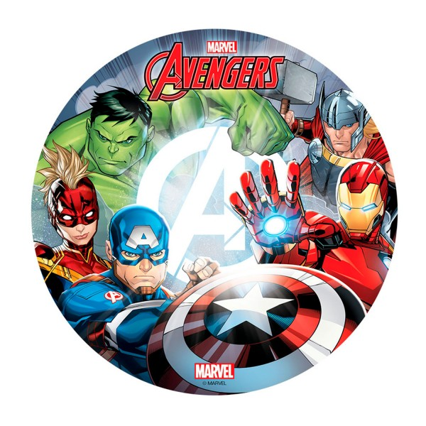 Marvel Avengers - Oblatenaufleger -