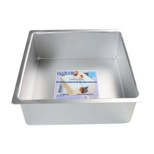 PME Extra tiefe quadratische Kuchenform 20 x 20 x  10cm