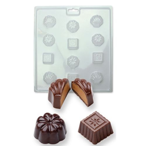 PME Candy & Chocolate Mold - Classic  Chocolates -