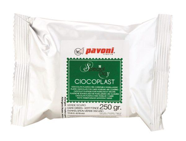 Modellier Schokolade 250 gramm grün