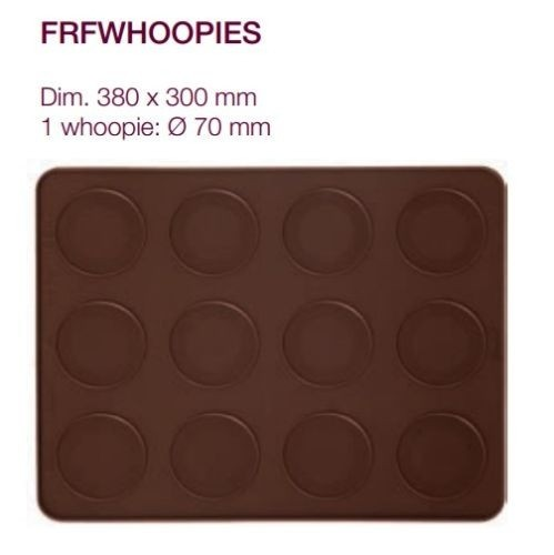Silikon Backmatte für 12 Whoopies