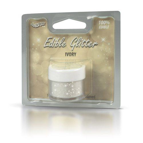 RD essbarer Glitter 5g Ivory