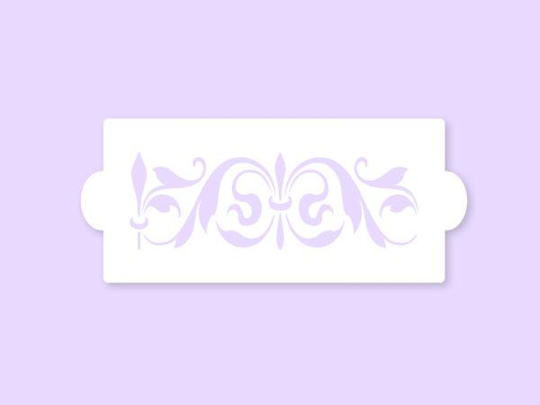 Pavoni Stencil / Schablone für Icing, Airbrush etc. Stencil10