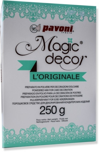 Pavoni Magic Decor 250 Gramm Pulver