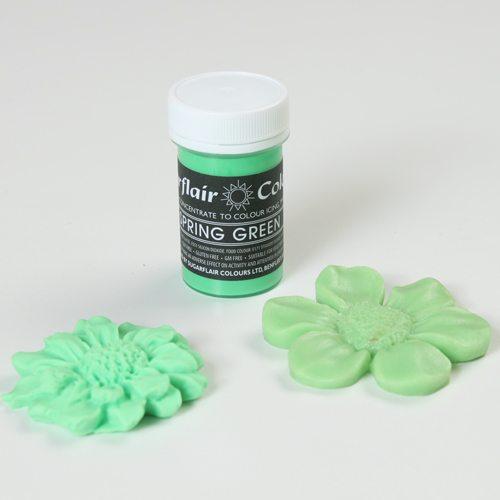 Sugarflair Pastel Colour Spring Green, 25g