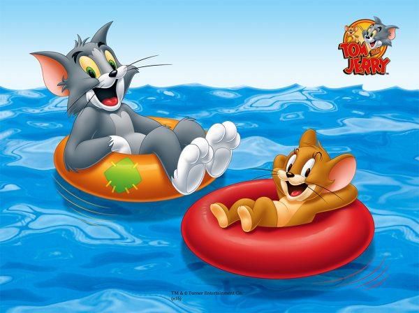 Tortenaufleger Tom & Jerry rechteckig