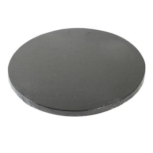 Tortenplatte rund Schwarz 30cm - 1 Stück