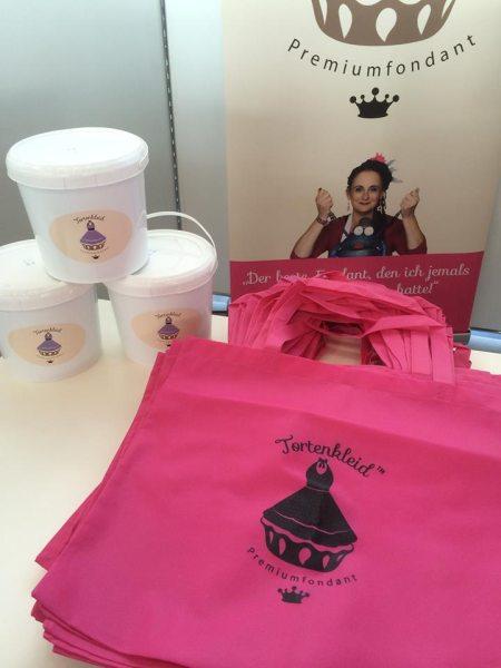 Tortenkleid Shoppingbag in Pink