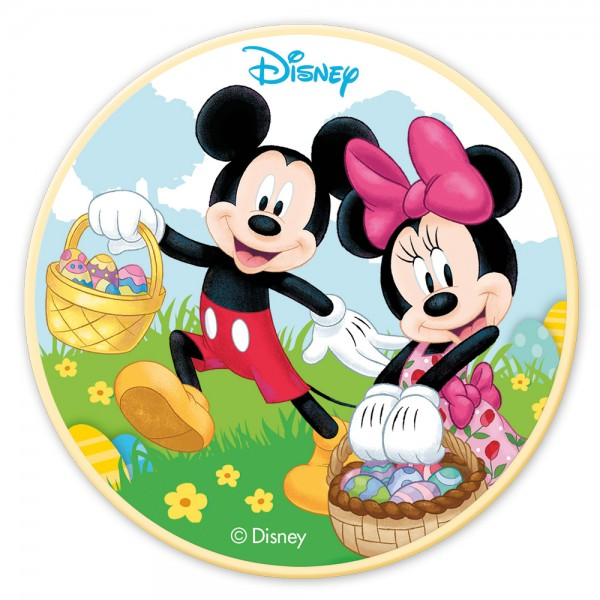 Mickey & Minnie - Schokoladenaufleger