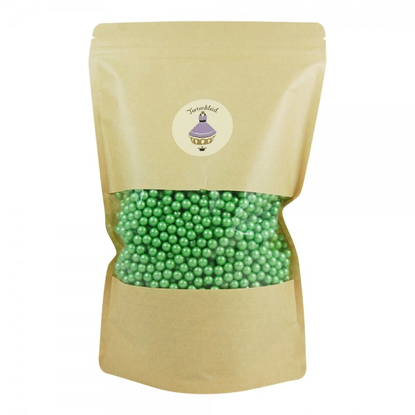 Zuckerperlen 7mm Grün 1kg