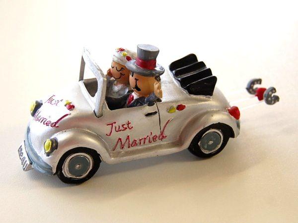 Just Married Käfer Cabrio