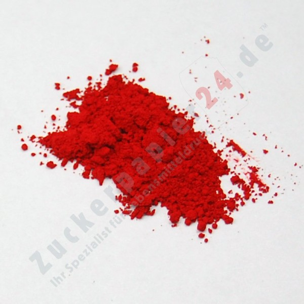 Tortenkleid Puderfarbe extra Rot 5g