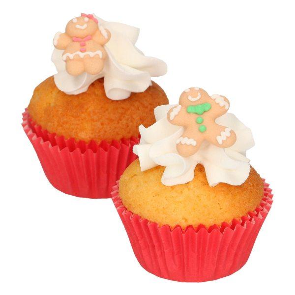 Funcakes Zucker Dekoration Lebkuchen Set 8 Stück