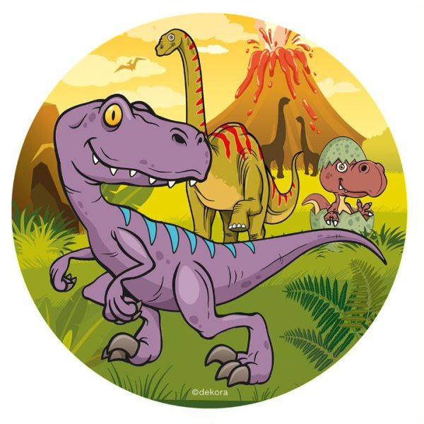 Dinosaurier 1 - Oblatenaufleger -