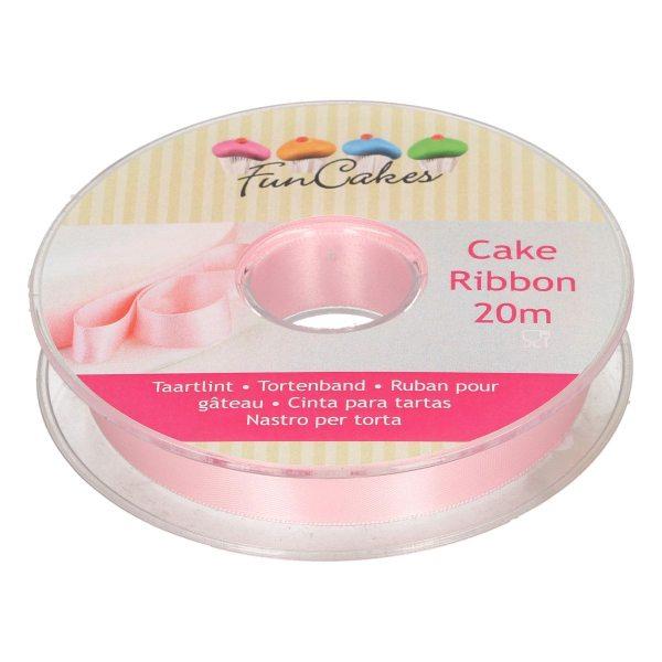 Funcakes Tortenband pink 15mm x 20m