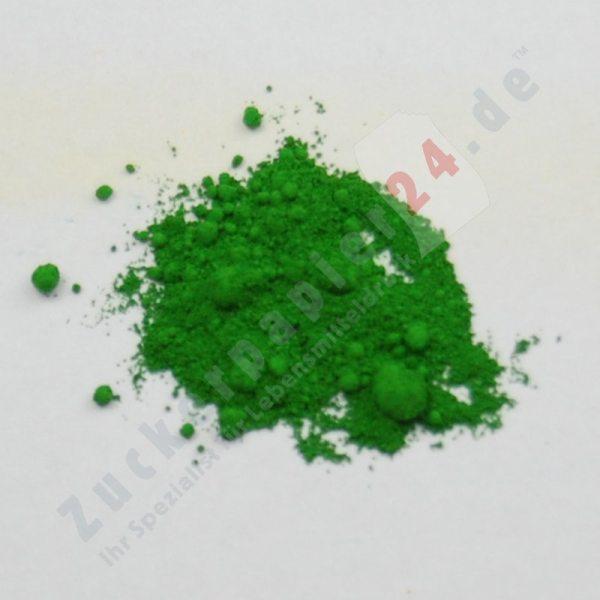 Tortenkleid Puderfarbe Grün 5g